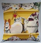 "Cushion Cover in Emma Bridgewater The Dresser Yellow 14"" 16"" 18"" 20"""